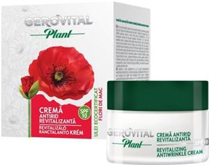 Gerovital Plant Revitalizáló Ránctalanító Krém Pipacs Olajjal