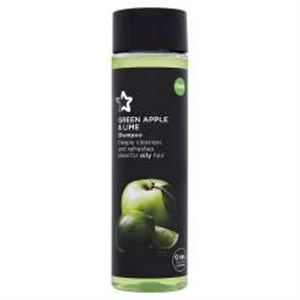 Naturals Shampoo Green Apple & Lime Sampon Zsíros Hajra