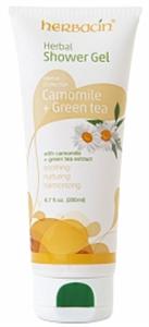Herbacin Herbal Shower Gel Camomile & Green Tea