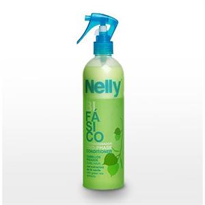 Nelly 2-Fázisú Instant Kondícionáló Hajspray Zöld Tea Kivonattal Göndör Hajra