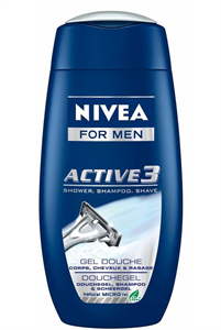 Nivea For Men Active 3 Tusfürdő