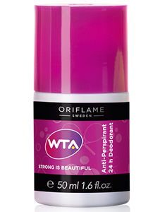 Oriflame WTA Strong Is Beautiful 24 Órás Izzadásgátló Golyós Dezodor