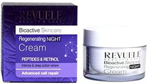 Revuele Regenerating Night Cream Bioactive Peptides&Retinol Complex