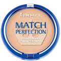 Rimmel Match Perfection Púder