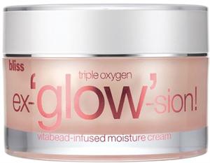 Bliss Triple Oxygen Ex-Glow-Sion Vitabead-Infused Moisture Cream