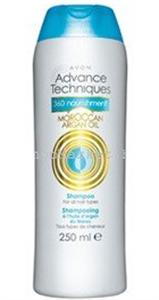 Avon Advance Techniques Hajtápláló Sampon Marokkói Argánolajjal (régi)