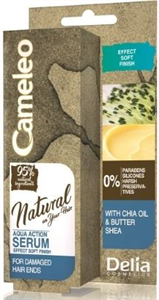 Delia Cosmetics Cameleo Natural Aqua Hajszérum Hidratáló Chia Kivonattal