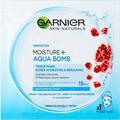 Garnier Skin Naturals Moisture + Aqua Bomb Szuper Hidratáló, Feltöltő Textil Maszk