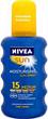 Nivea Sun Moisturising Spray Naptej SPF15