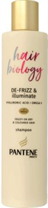 Pantene Pro-V Hair Biology De Frizz & Illuminate Sampon