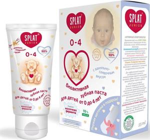 Splat Junior 0-4 Bio-Active Toothpaste