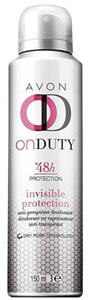 Avon On Duty Invisible Protection Deo Spray