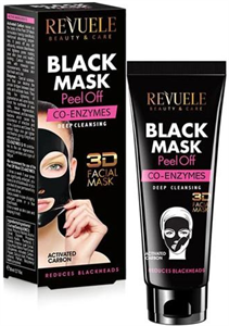 Revuele Black Mask 3D Facial Peel Off