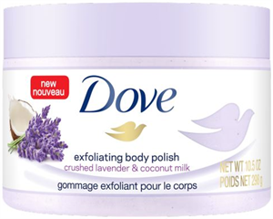Dove Crushed Lavender & Coconut Milk Testradír
