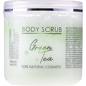 Hristina Cosmetics Sezmar Professional Body Scrub Green Tea