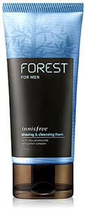 Innisfree Forest For Men Borotválkozó és Arctisztító Hab