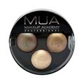 Makeup Academy Trio Eyeshadow