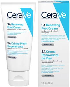 CeraVe SA Renewing Foot Cream