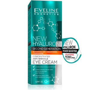 Eveline New Hyaluron Second Generation Concentrated Anti-Wrinkle Eye Cream