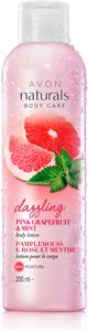 Avon Naturals Rózsaszín Grépfrút és Menta Testápoló