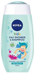 Nivea Kids Magic Apple Tusfürdő és Sampon