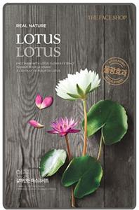 Thefaceshop Real Nature Mask Sheet Lotus