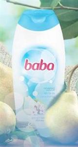 Baba Körte és Barackvirág Tusfürdő