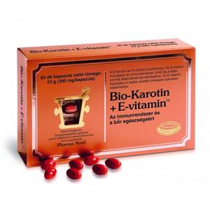 Pharma Nord Bio-Karotin + E-Vitamin Kapszula