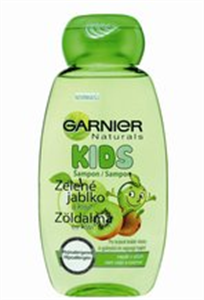 Garnier Natural Kids Zöldalma és Kiwi Sampon