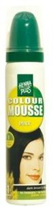 Henna Plus Colour Mousse Black