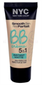 NYC Smooth Skin Fini Parfait BB Créme 5in1 Instant Matte
