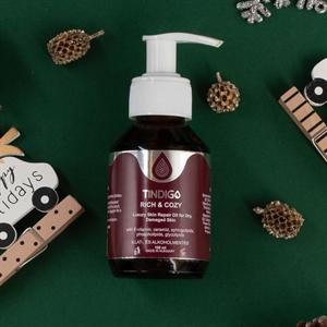 Tindigo Rich & Cozy Luxury Skin Repair Oil For Dry, Damaged Skin