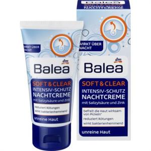 Balea Soft & Clear Éjszakai Arckrém