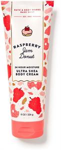 Bath & Body Works Raspberry Jam Donut Ultra Shea Body Cream