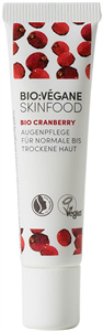 Bio:Végane Skinfood Bio Cranberry Augenpflege