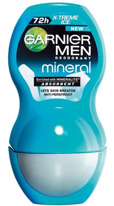 Garnier Mineral Men 72H Xtreme Ice Deo Roll-On