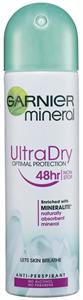 Garnier Mineral UltraDry Optimal Protection 48h Deo Spray