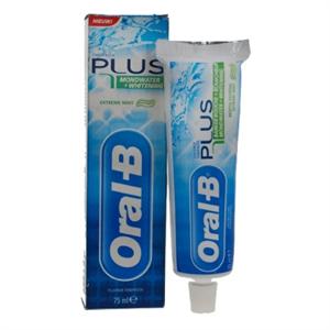 Oral-B Plus Fogkrém Fehérítővel és Szájvízzel
