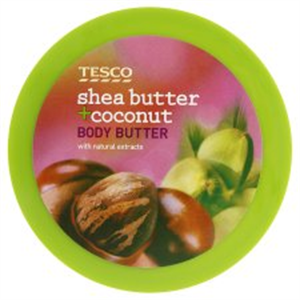 Tesco Shea Butter + Coconut Testápoló Vaj