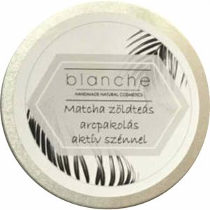 Blanche Matcha Zöldteás Arcpakolás Aktív Szénnel
