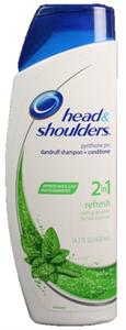 Head & Shoulders 2in1 Korpásodás Elleni Sampon és Kondicionáló Menthol