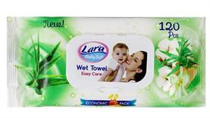 Lara Baby Soft Aloe Verás Nedves Törlőkendő