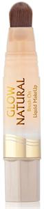 Milani Glow Natural Brush-On Liquid Makeup Folyékony Alapozó Ecsettel