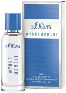 s.Oliver Your Moment Férfi EDT