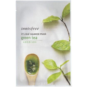 Innisfree It's Real Squeeze Mask Green Tea