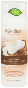 Live Clean Coconut Milk Tusfürdő