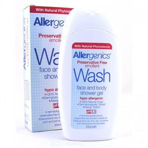 Optima Allergenics Tusfürdő Gél Arcra és Testre