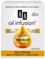AA Oil Infusion2 30+ Intenzív Hidratáló, Bőrkisimító Nappali Arckrém (UVA/UVB)