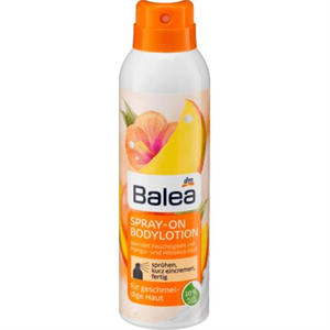 Balea Spray-On Bodylotion Mango & Hibiskus