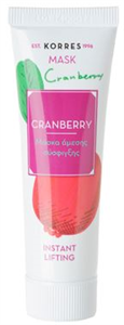 Korres Cranberry Instant Lifting Mask